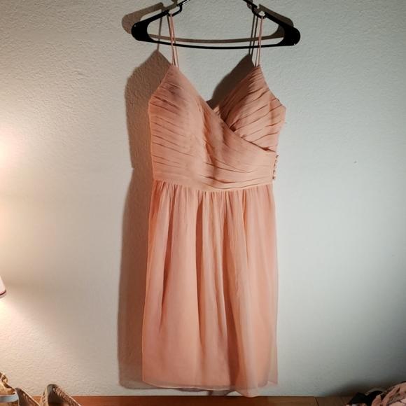 Jenny Yoo Dresses & Skirts - Jenny Yoo beautiful size 6 light peach dress